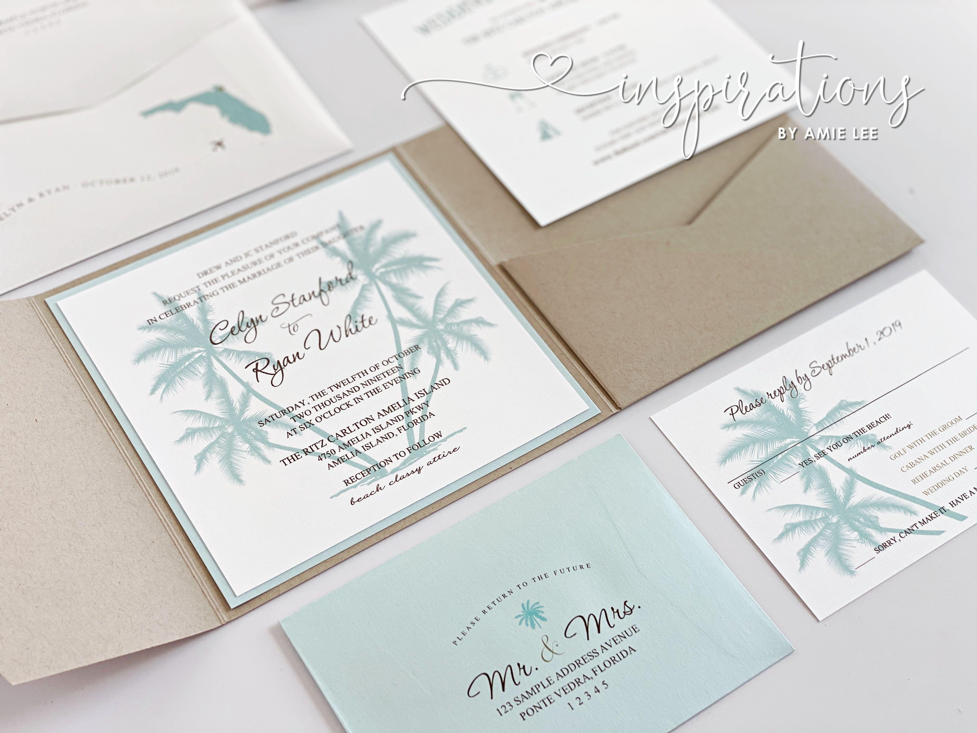 Elegant Beach Wedding Invitations In 2020 Classic Invitation Beach Wedding Invitations