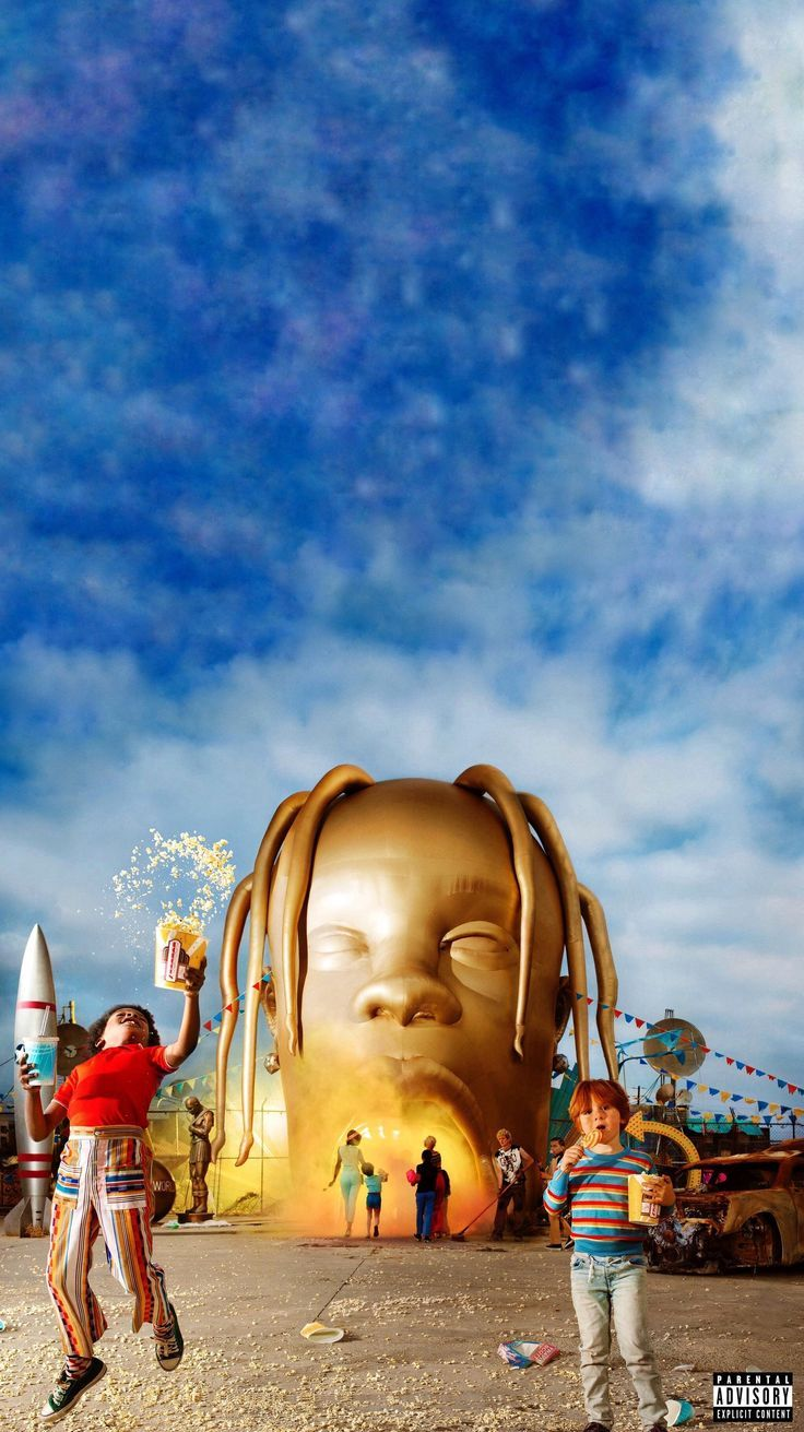 Would love a PC background of this Astroworld cover