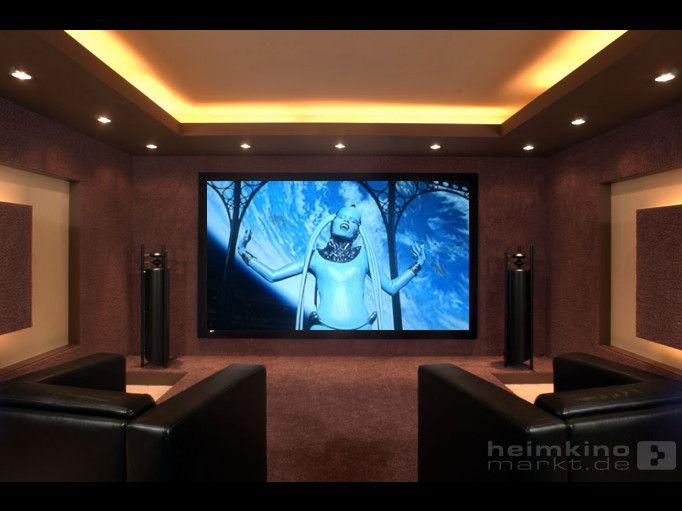 Id e plafond pour la zone salon tv luminaire lights pinterest salon t - Salon avec home cinema ...