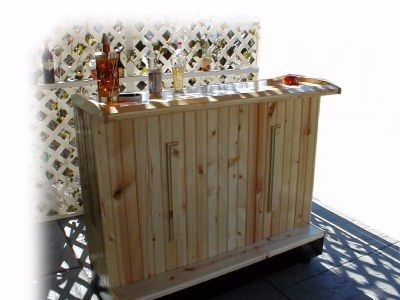 Home Bar Plans   Easy Designs To Build Your Own Bar   Outdoor