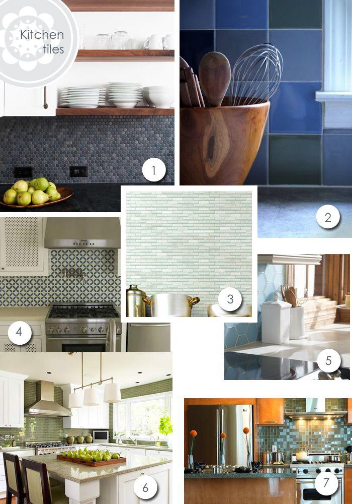 En Busca de Azulejos Para Cocina  Cocinas y comedor