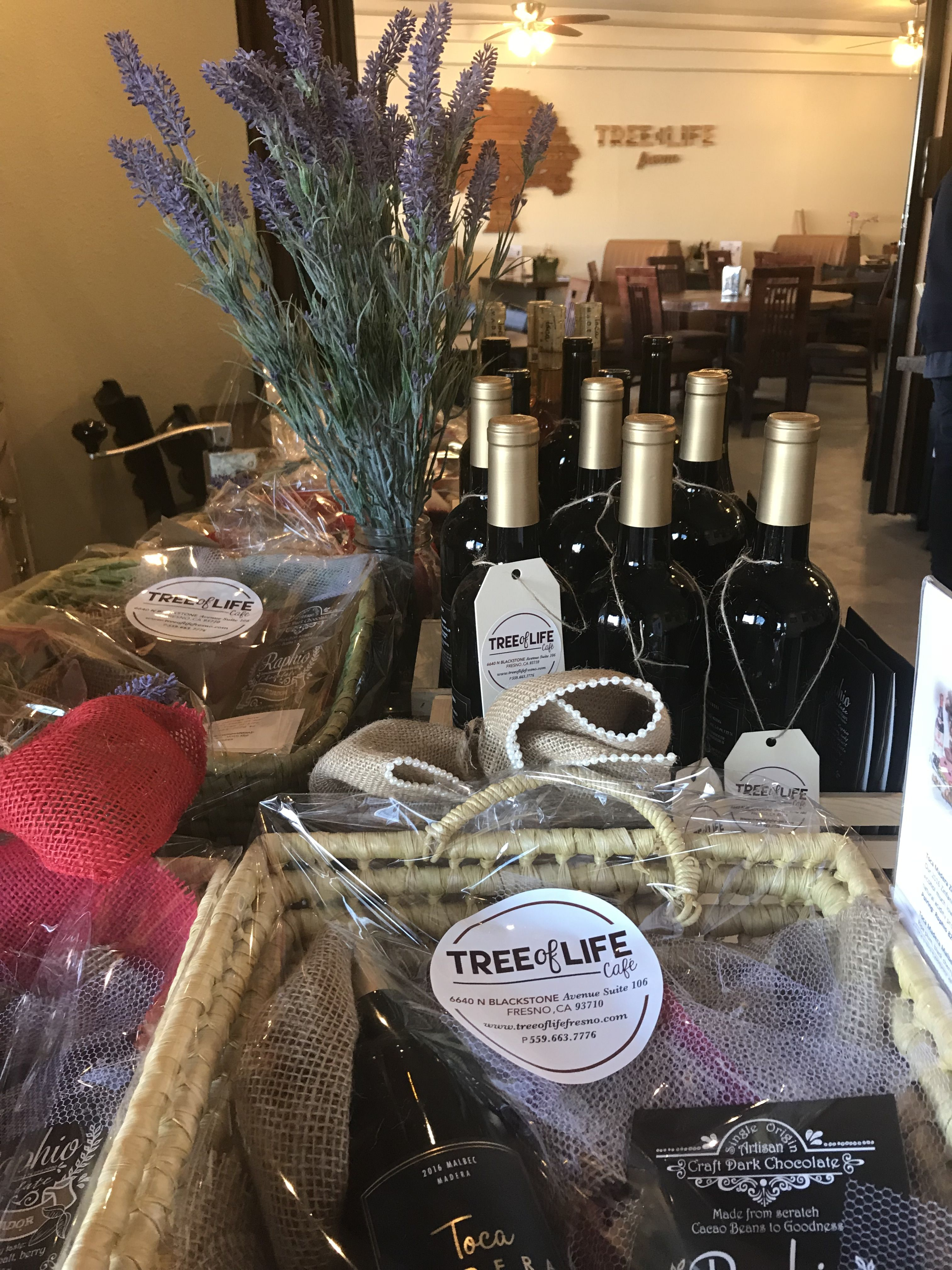 Are you looking for a perfect unique Valentines gift? Tree of Life Café has Wine