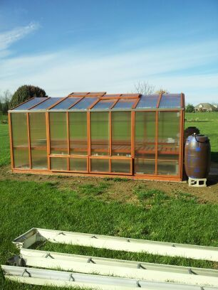 Recycling Rain Run Off To Use In A Greenhouse Genius Clintonseamless Recycle Gutter Greenhouse Recycling Residential