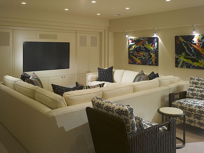 Media Room Furniture Layout rec room layout | interior spaces | pinterest | room, basements