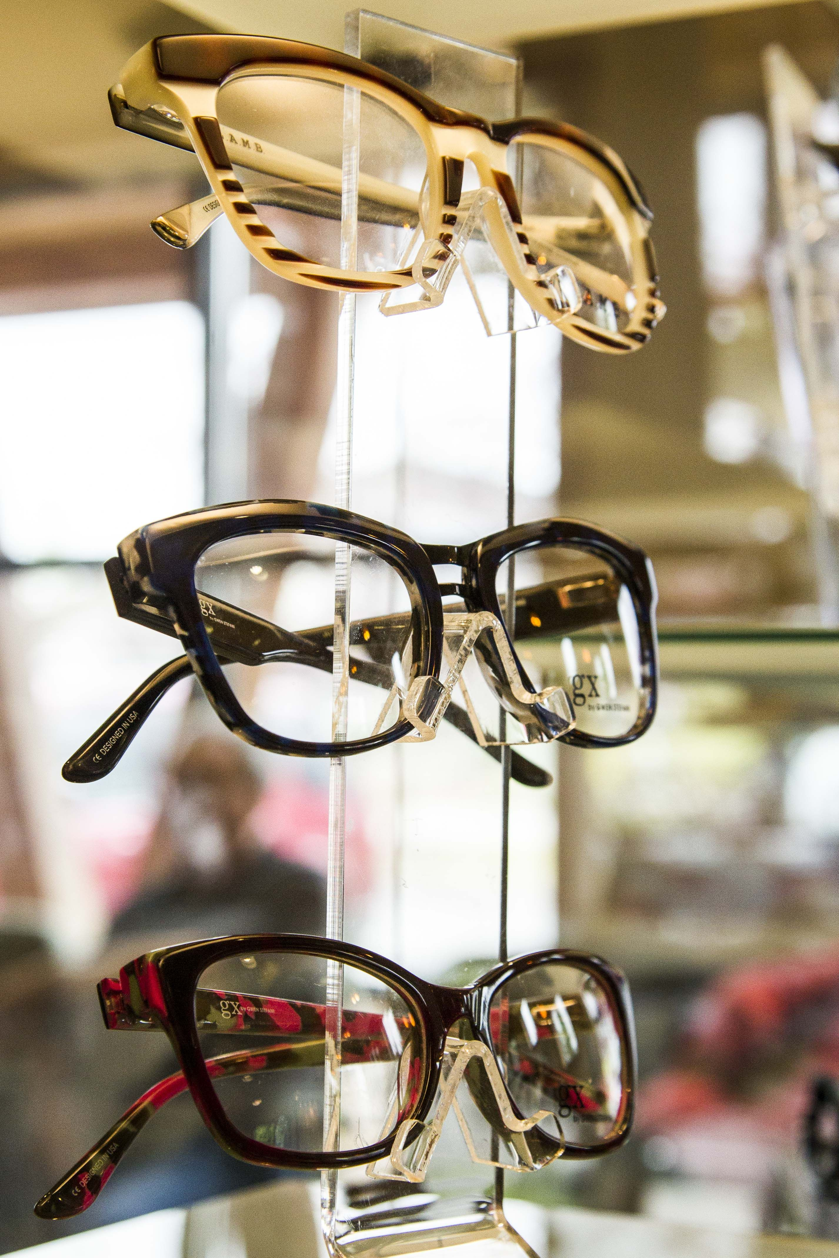 78d6c72d95 Cascadia Eye s online eyewear store (and our Mt. Vernon optical shop) now  features Gwen Stefani s frames and sunglasses - L.A.M.B. and GX brands!