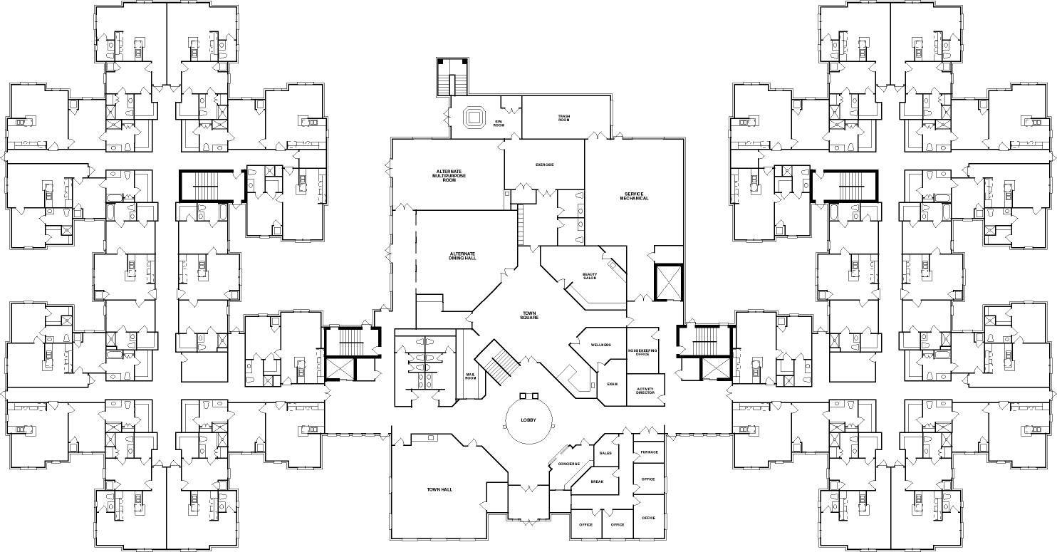 senior house plans