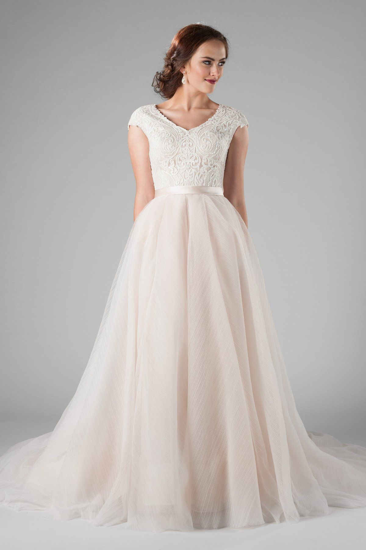 Tiana Modest Wedding Dresses Perfect Wedding Dress Wedding Dresses [ 1800 x 1200 Pixel ]