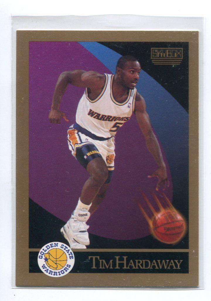 Tim Hardaway 1990 Skybox 95 Rookie Golden State Warriors Utep
