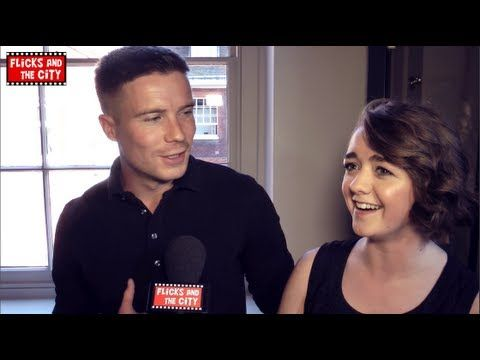 Game Of Thrones Red Wedding Reaction Maisie Williams Joe Dempsie Inter Maisie Williams Joe Dempsie Red Wedding Reaction