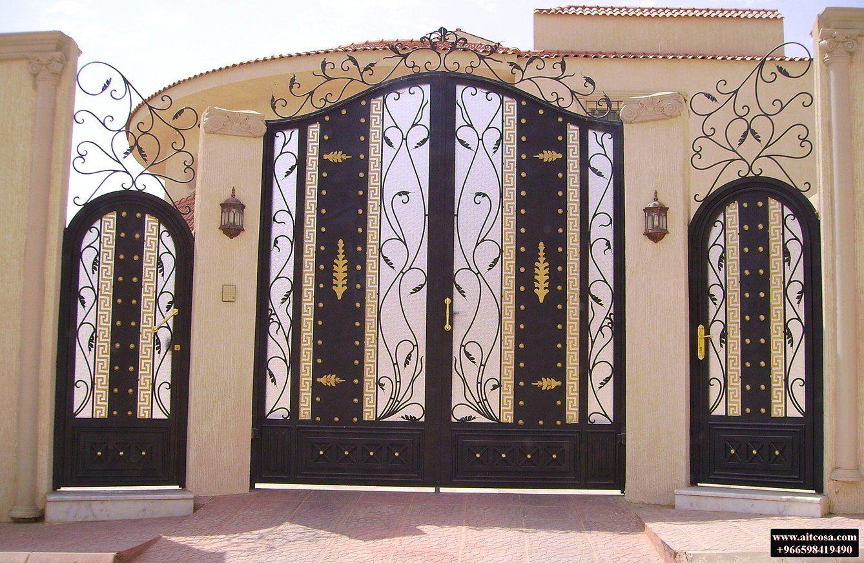 Pin By Aitco On ابواب خارجية Door Gate Design Iron Gate Design Gate Design