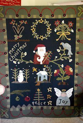Tattered Threads & Willing Hands: Adela's Christmas Quilt