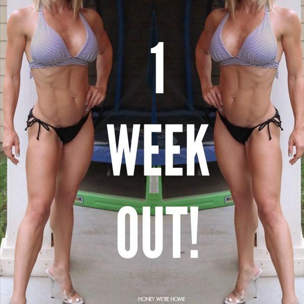 Pre contest bikini pro diet