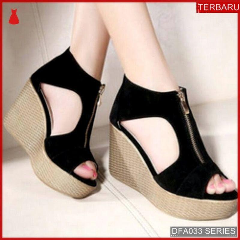Dfa033k29 Ks5 Sandal Wedges Atikah Wanita Ready Dewasa Lgsg Suede