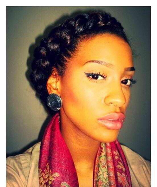 Beautiful Goddess Braid.