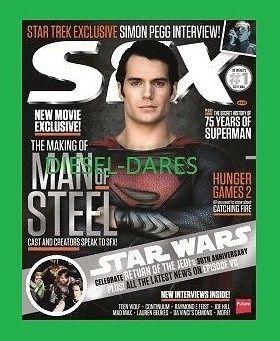SFX JULY 2013 ISSUE 235 MAN OF STEEL HENRY CAVILL TEEN WOLF SEASON 3 SIMON PEGG ebay  10/27/2013   diesel-dares