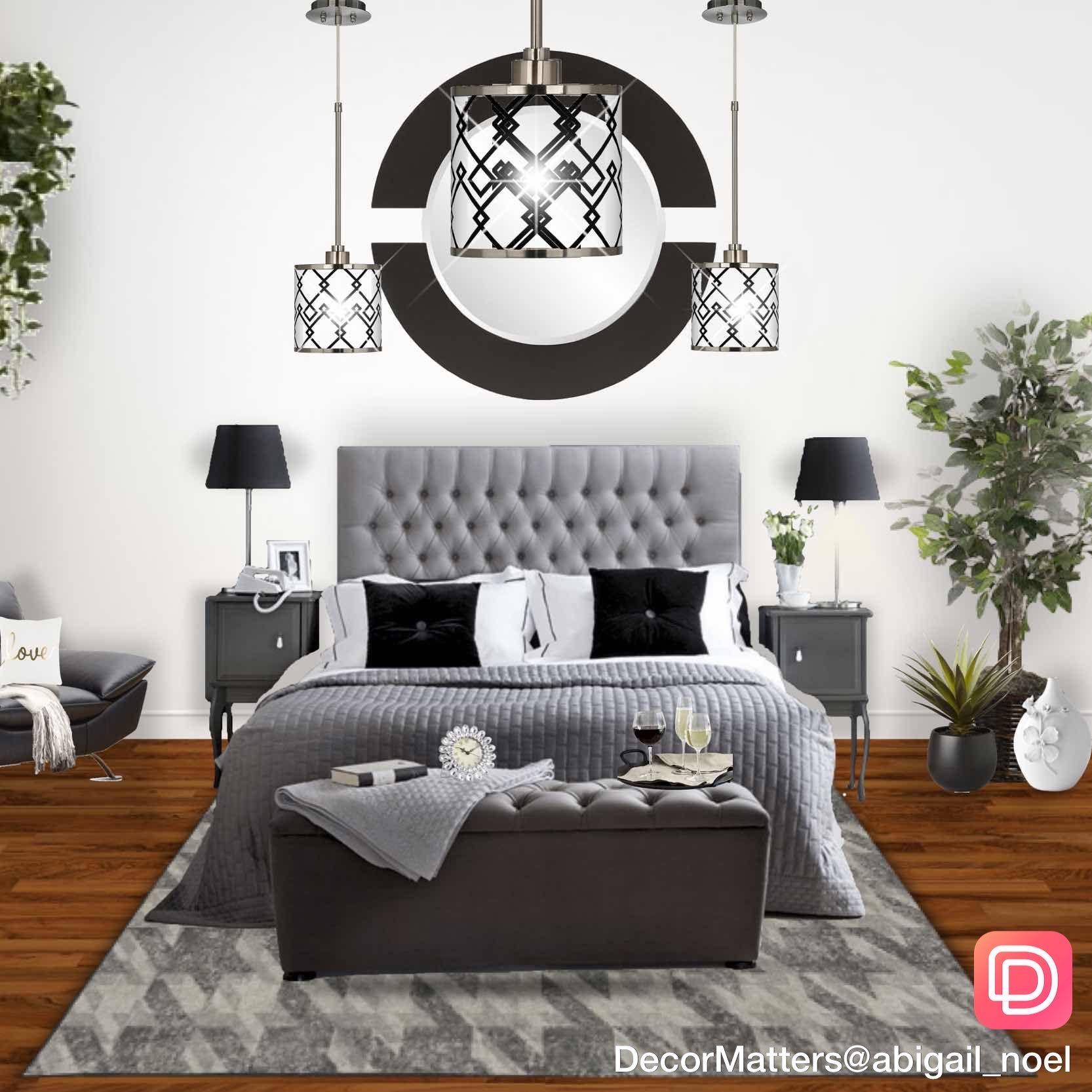 Beautiful Monochromatic Design Bedroom By Our User Abigail Noel