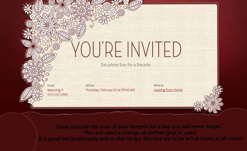 Wedding Anniversary Invitation Message: Wedding Invitation Wording: 1st Wedding Anniversary