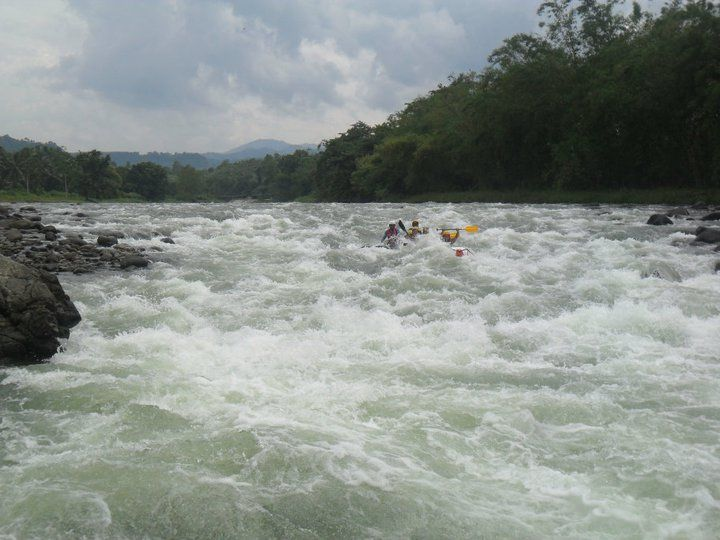 White Water Rafting in Cagayan De Oro, Philippines.   so much fun!!!!!