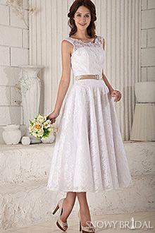 garden wedding dress for that 2nd wedding