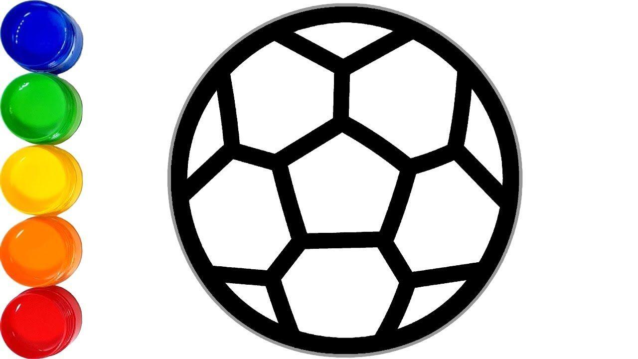 fußball malvorlagen  wie zeichnet man fußball für kinder