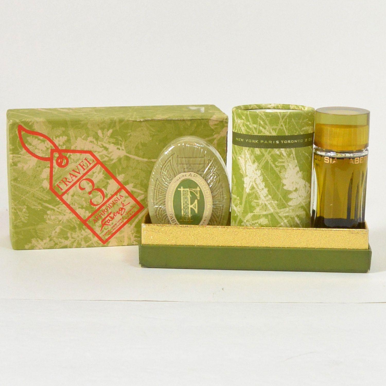 Aphrodisia Faberge Vintage 1960S 1970S Cologne Perfume Bath Powder Soap