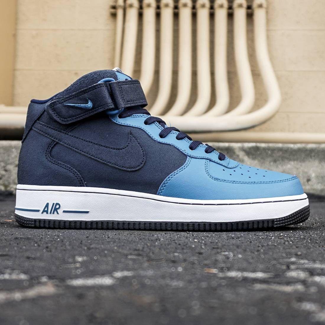 Nike Men Air Force 1 Mid '07 (blue