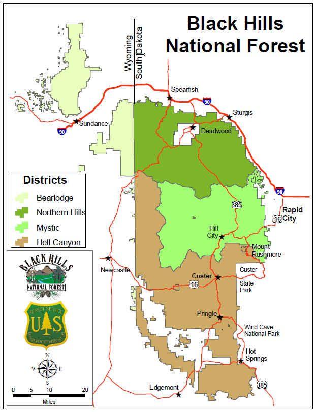 Black2520hills2520national2520forest 2520home Black Hills National Forest Midwest Road Trip