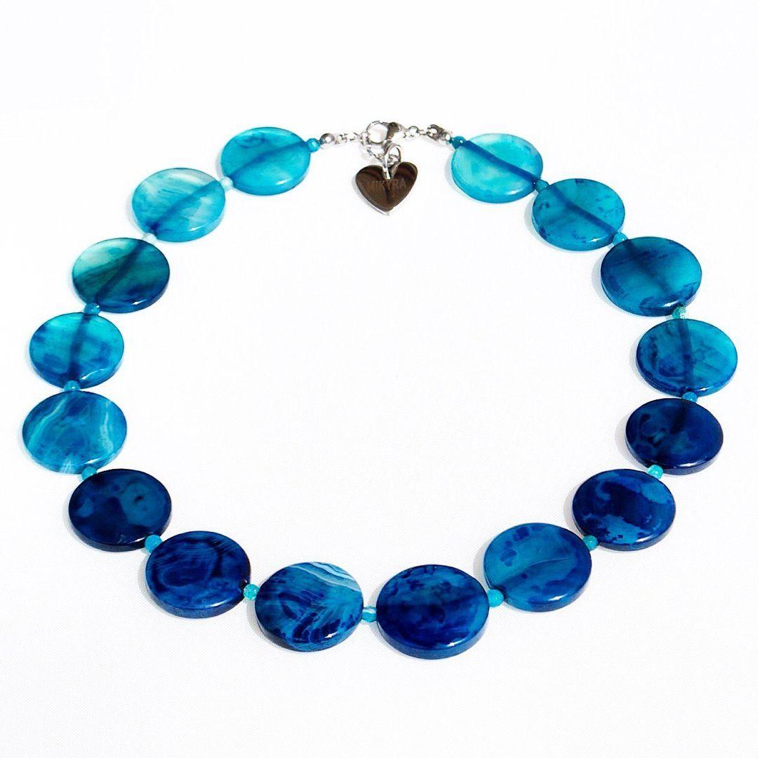 Collana Bluecircle - www.mikyra.it