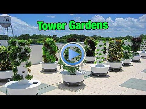 Tower Gardens Part 1 gardening in 2020 Tower garden