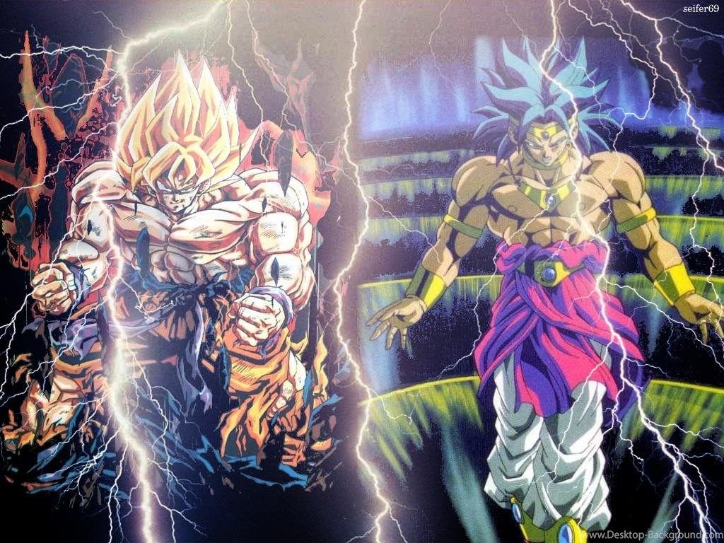Dragon Ball Z Wallpapers Broly Vs Goku Hd Wallpapers Gallery