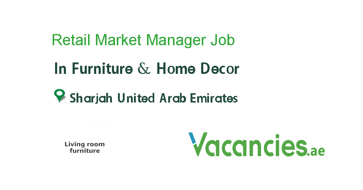 Retail Market Manager In 2020 Job Marketing Manager Sales And