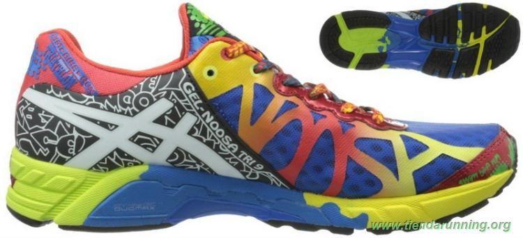 zapatillas de running Asics Gel Noosa Tri 9 Royal Blanco Rojo T408N-5901  Hombre 0a0452008b7e1