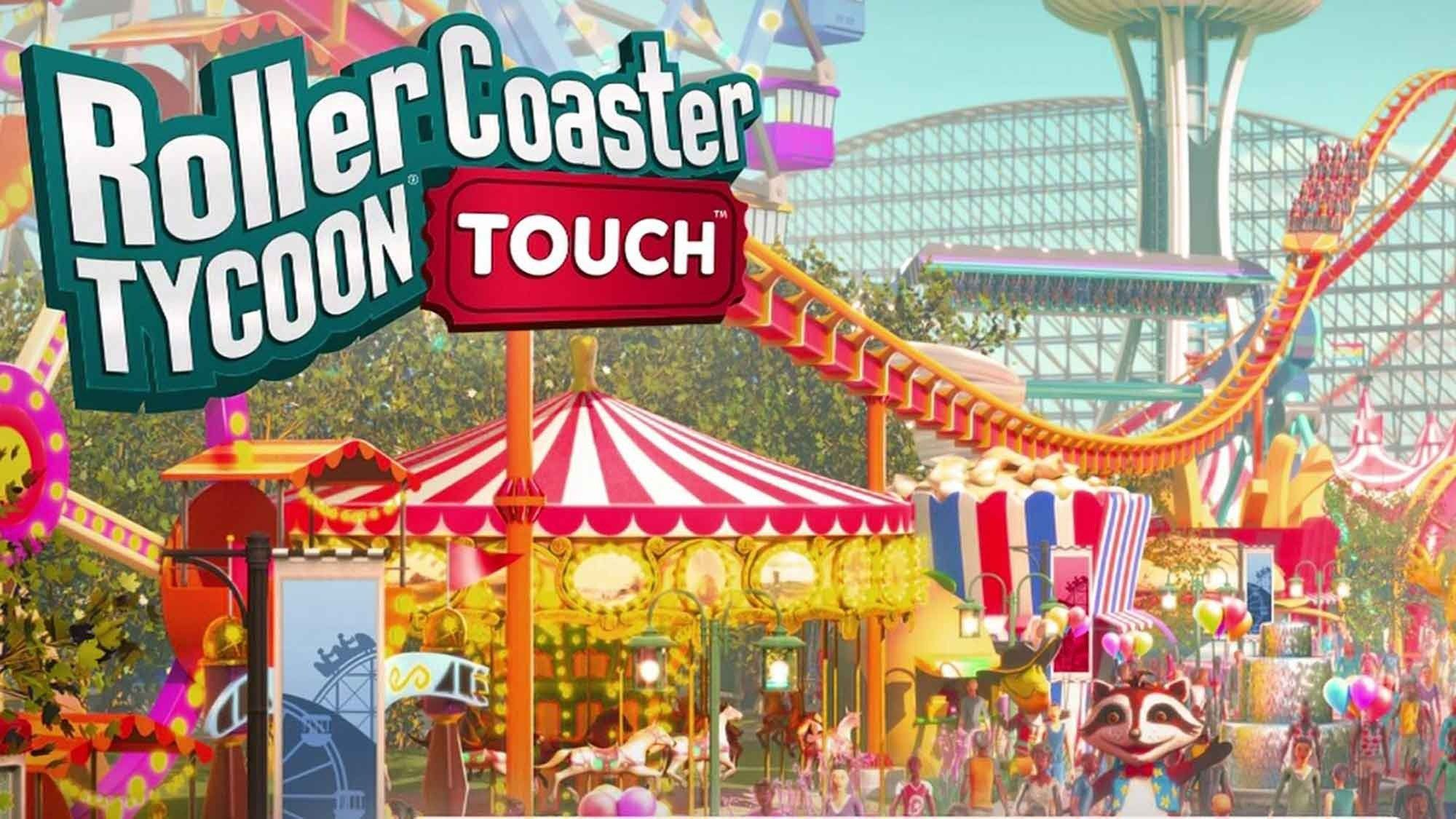 RollerCoaster Tycoon Touch MOD APK 3.7.1 (Unlimited Money