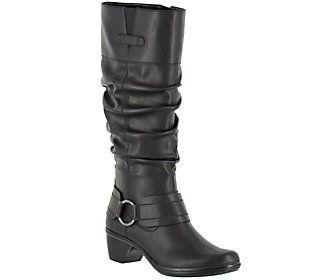 Easy Street Tall Medium Calf Boots - Jayda