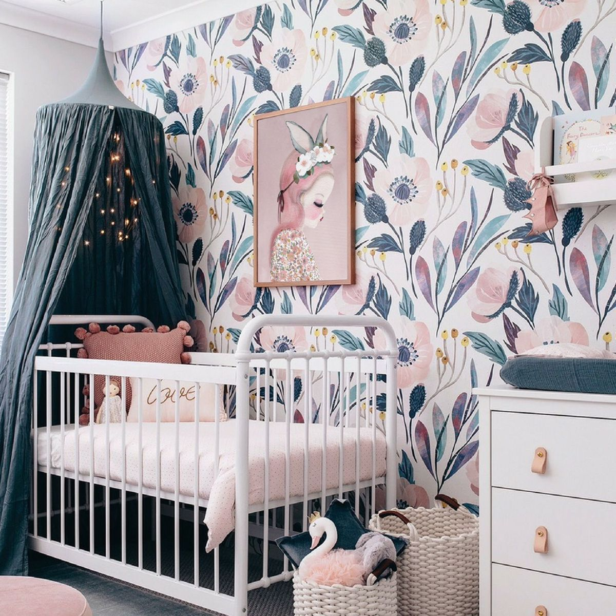 Pin On Girls Bedroom Ideas Unisex bedroom wallpaper ideas