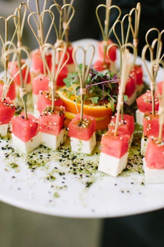 27 Delicious Spring Wedding Appetizer Ideas | appetizers | Pinterest ...