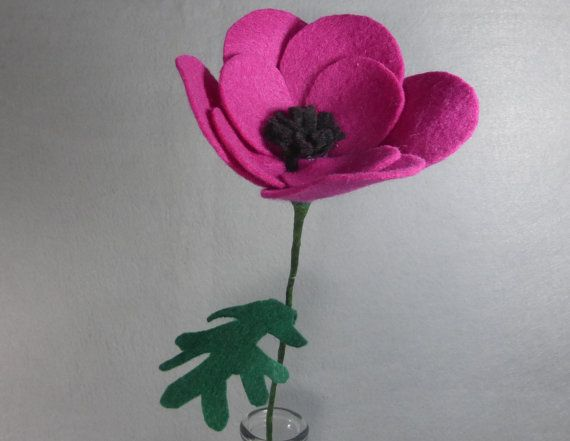 Fake flower poppy artificial flower felt flower pink felt poppy fake flower poppy artificial flower felt flower pink felt poppy artificial mightylinksfo
