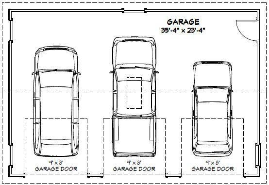 Hasil Gambar Untuk Garage Dimensions Garage Dimensions How To