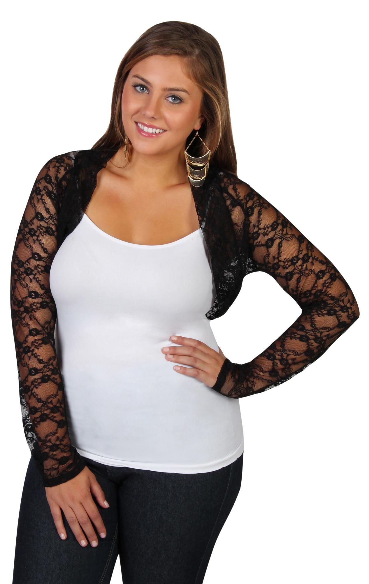 plus size lace cropped bolero shrug | cardigans for men