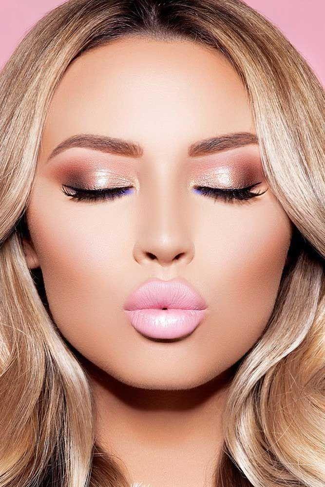 39 Top Rose Gold Make-up-Ideen, um wie eine Göttin auszusehen   – Make-up Tipps + Tricks