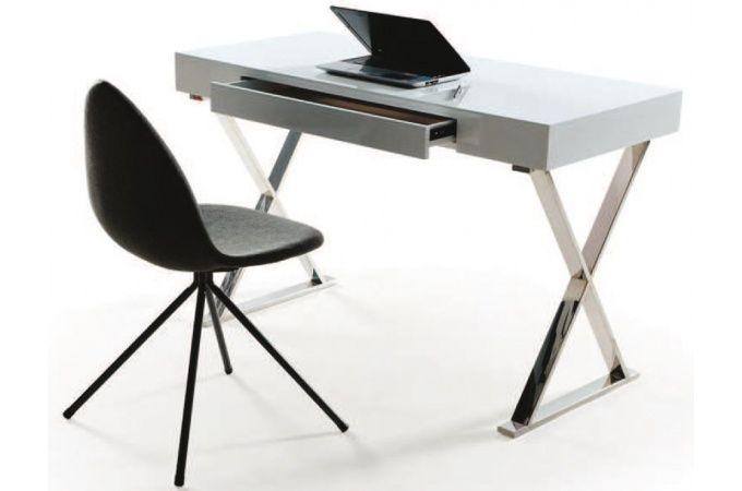 Bureau Declikdeco Bureau Blanc Laque Pas Cher Iziva Com Bureau Blanc Laque Table Bureau Bureau Ordinateur