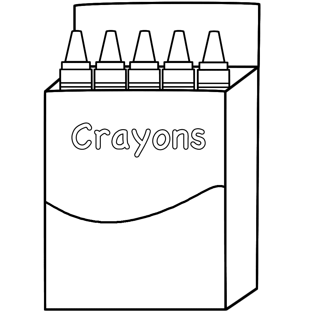 Crayons Box Crafts And Worksheets For Preschool Toddler And Kindergarten School Coloring Pages Coloring Pages Free Printable Coloring Pages