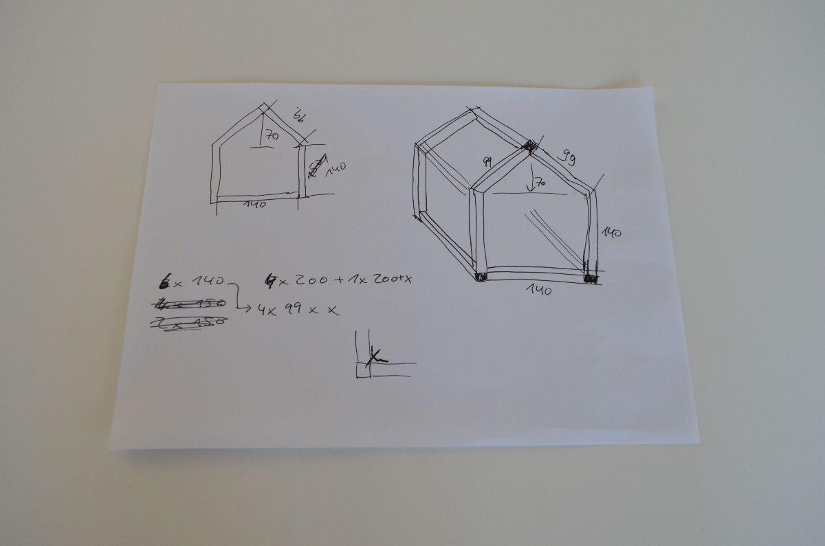 kinderbett selber bauen xxl hausbett bauanleitung b rne krim krams pinterest kinder bett. Black Bedroom Furniture Sets. Home Design Ideas