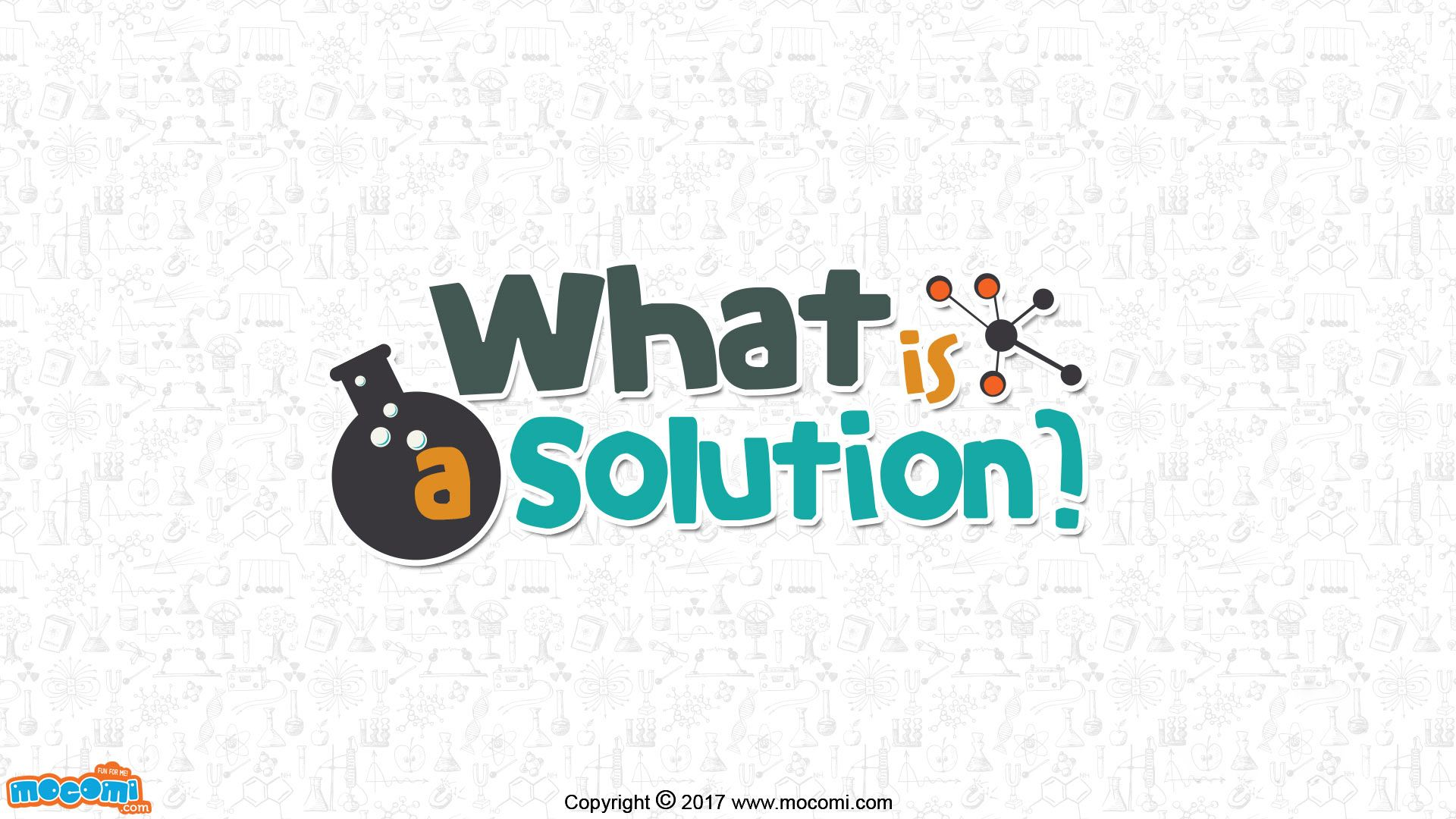 A solution is a homogeneous mixture of solutes dissolved
