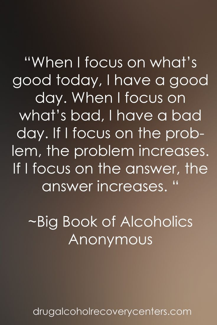 Recovery Quotes: Good words for the Big Book Follow: https://