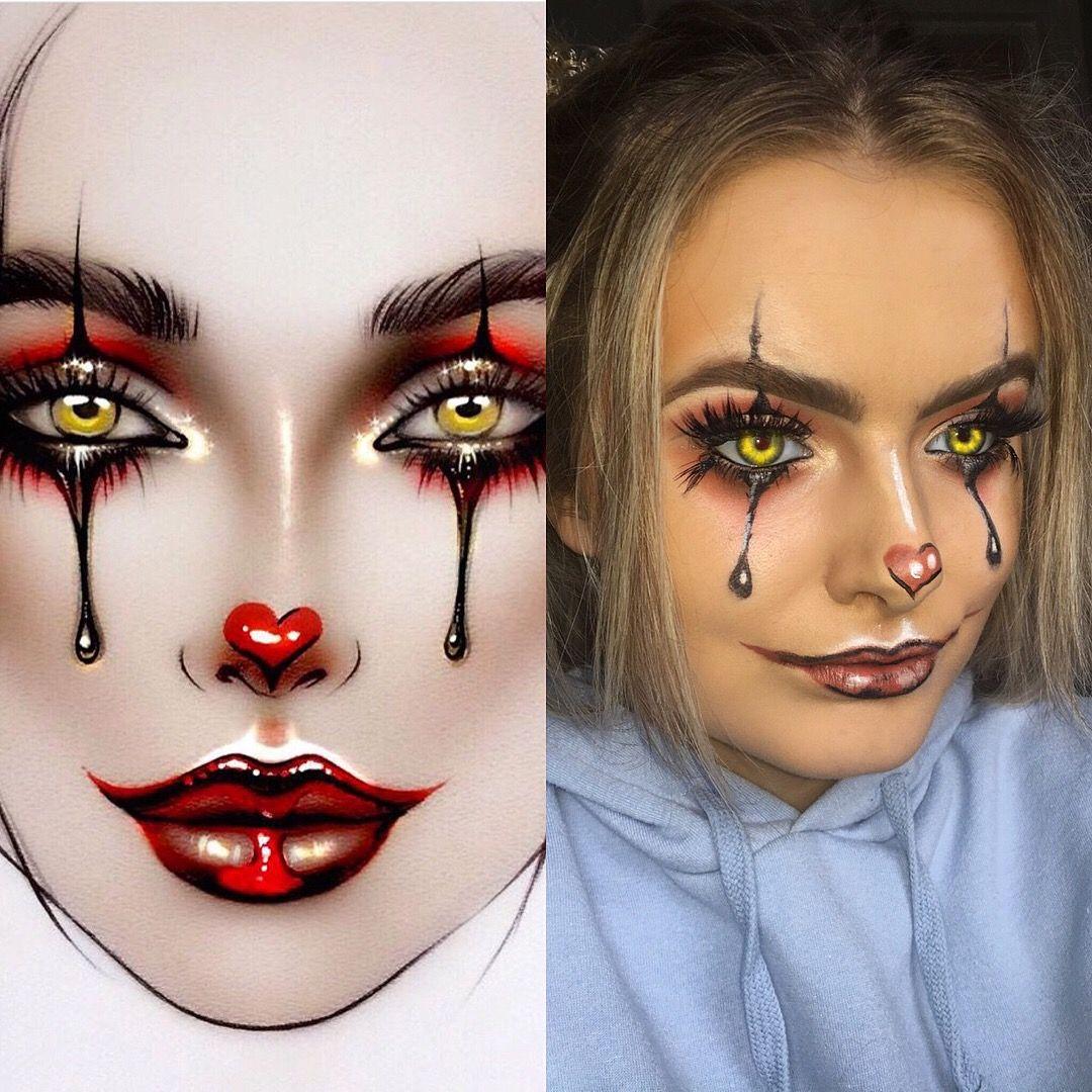 Halloween Makeup Easy Clown.It Makeup Pennysiwse Halloween Makeup Easy Halloween
