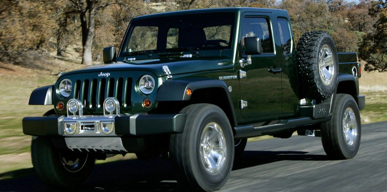 2020 Jeep Gladiator Overall Length Challenger Redesign Jeep Wrangler Pickup Wrangler Truck Jeep Wrangler Truck