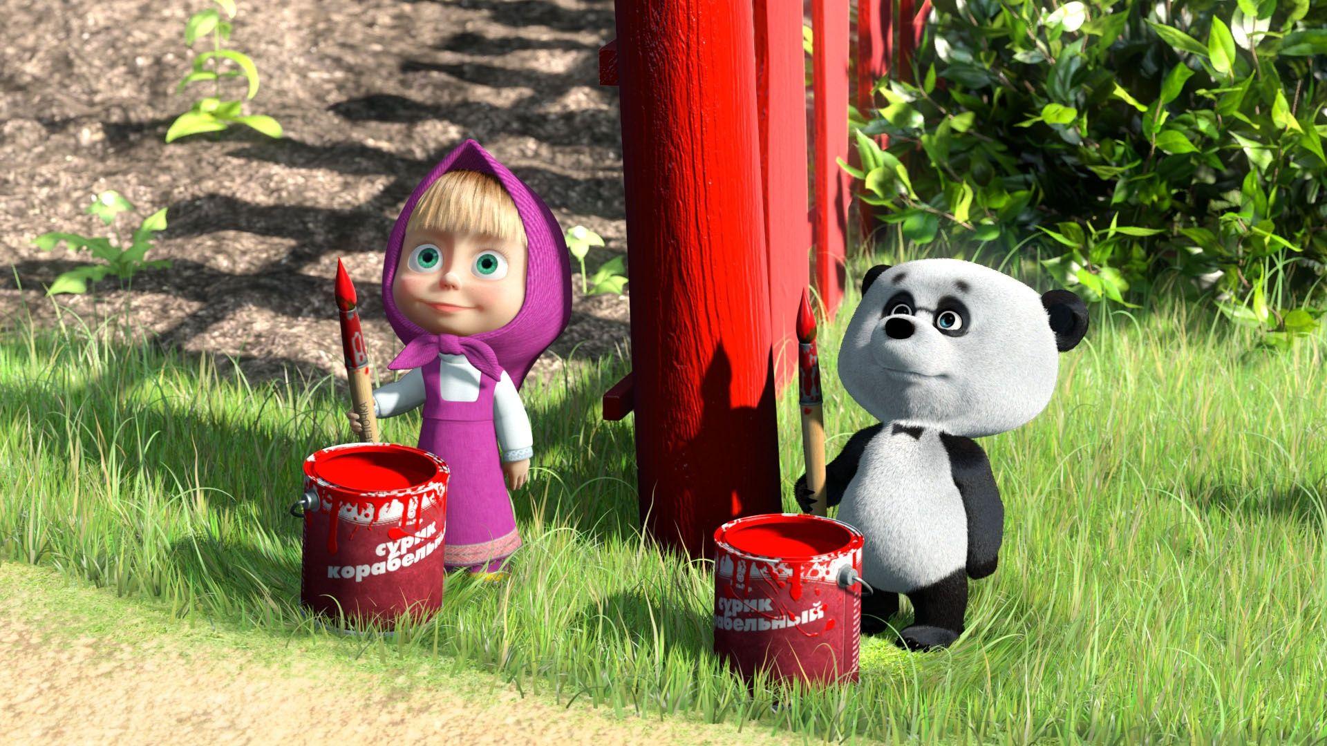 Little Cousin Masha And The Bear Pinterest Masha And The