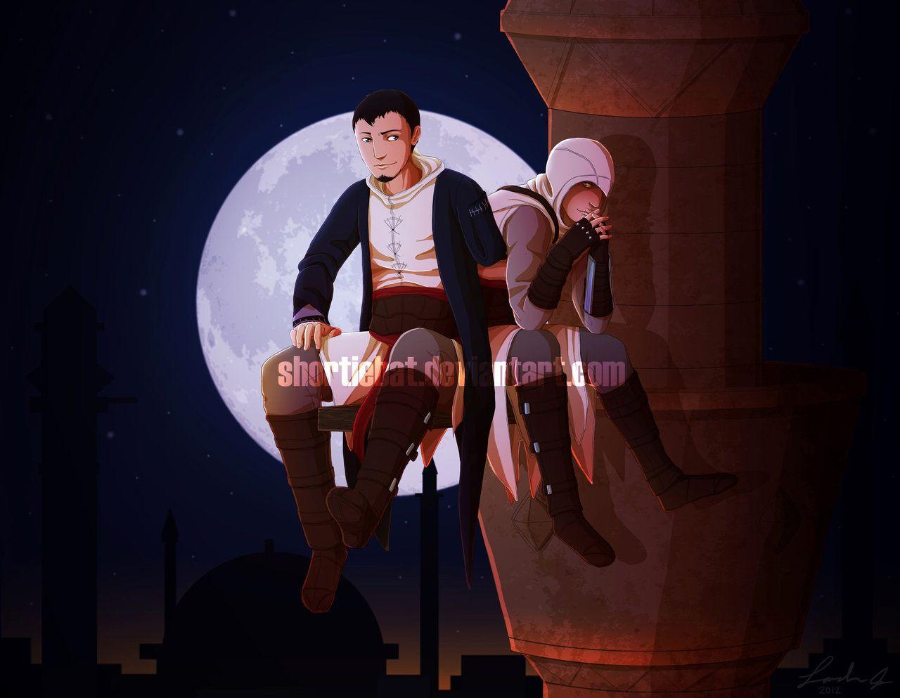 Assassin's Creed - Altaïr ibn La-Ahad x Malik Al-Sayf - AltMal
