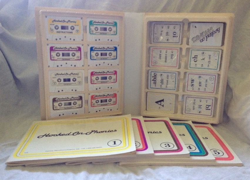 Hooked On Phonics Complete Home School Learn To Read Cassette